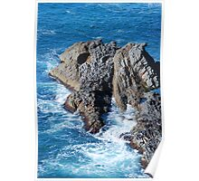 Forster Rocks - NSW Australia Poster