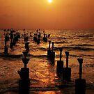 Orange Sunset by AroonKalandy