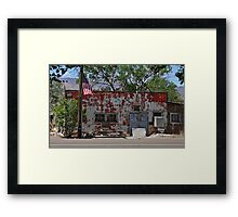 The Long Branch Saloon Framed Print