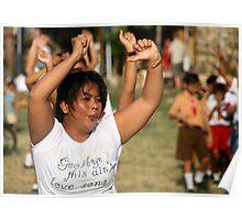 Aerobics in Ubud, Bali Poster