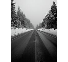 Middle of Nowhere Photographic Print