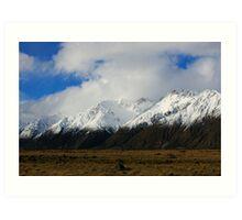 Mountainscape NZ Art Print