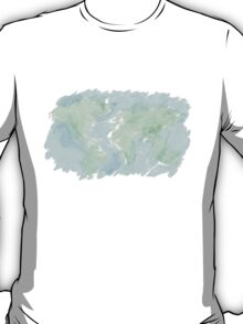 A messy world - watercolor T-Shirt