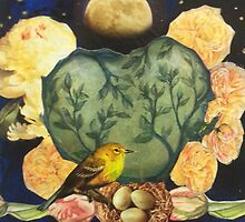 Spring Moonrise by Jo Thompson