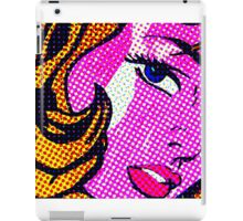 Batgirl without the mask iPad Case/Skin