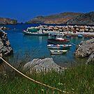 port of antikythira by konsolakism
