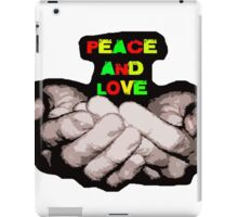 peace and love offering iPad Case/Skin
