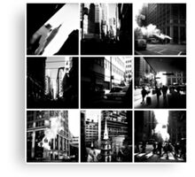 NYC Collage Canvas Print