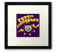 Cats in Cyberspace Framed Print