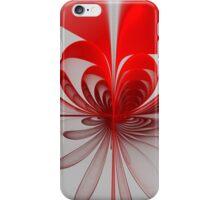 Billowing Ribbon Heart iPhone Case/Skin