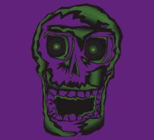 Green Skull Voodoo by weirdpuckett