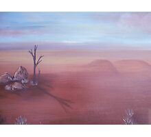 outback dreaming Photographic Print