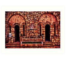 Kalemegdan Fortress Church Saint Petka Art Print