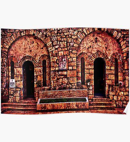 Kalemegdan Fortress Church Saint Petka Poster