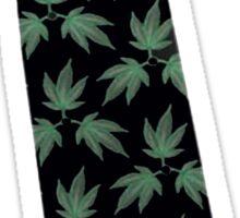 formal weed tie Sticker