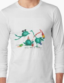 frogs party Long Sleeve T-Shirt