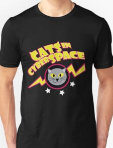 Cats in Cyberspace Unisex T-Shirt