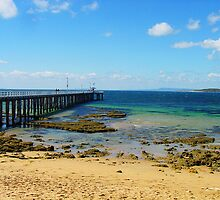 Pier at Point Lonsdale by BlueFeather