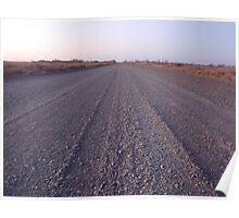 Road To No Where - Western Australia Poster