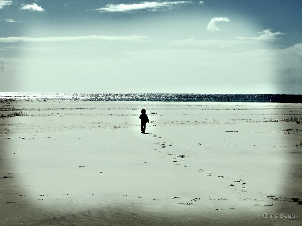 The Lonely Traveller by Chris Begg