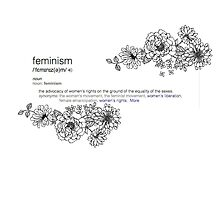 Feminism Definition  by harrietly