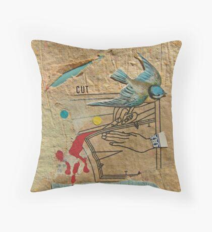 Cut Throw Pillow