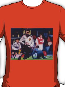 Giggs goal v Arsenal Oil on Canvas T-Shirt