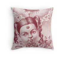 Little Patricia's third eye blind Throw Pillow