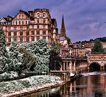 Victoria Art Gallery and Palladian Pulteney Bridge  by LudaNayvelt