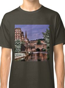Victoria Art Gallery and Palladian Pulteney Bridge  Classic T-Shirt