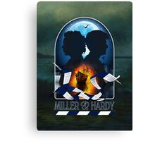 MILLER & HARDY 2013 - BC1 Canvas Print