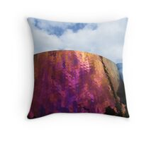 The Experience Music Project building in Seattle, Washington Throw Pillow