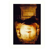 Medusa, Basilica Cistern, Istanbul Art Print