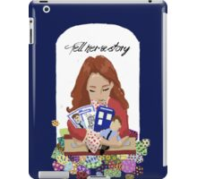 Tell Her A Story iPad Case/Skin