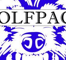 WOLFPACK ATTACK (BLACK) PHI BETA SIGMA - EA Sticker