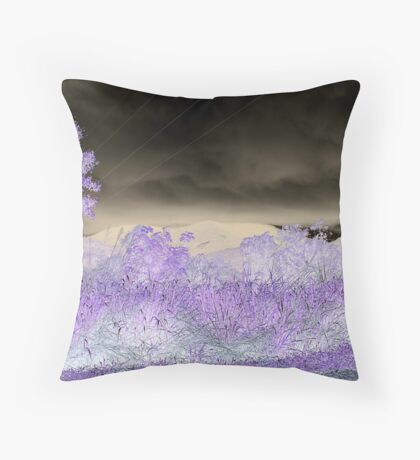 Eerie Throw Pillow