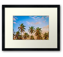 Sunset Boulevard Framed Print