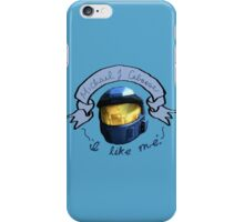 Caboose - I Like Me (New & Improved!) iPhone Case/Skin