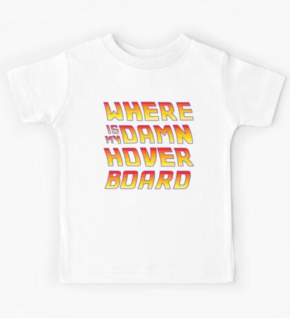 Hoverboards Anonymous Kids Tee