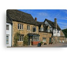 Lacock Village Canvas Print