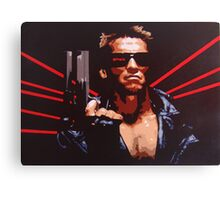 The Terminator Canvas Print