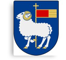 Gotland Coat of Arms  Canvas Print