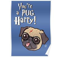 Harry Pug Poster