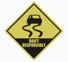 Drift responsibly Kids Clothes