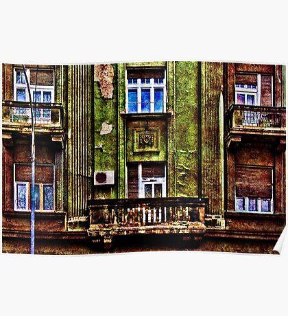 Urban Melancholy Fine Art Print Poster