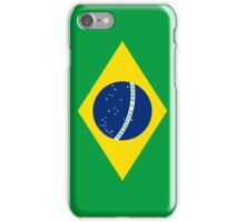 Flag of Brazil Vertical iPhone Case/Skin