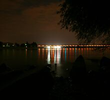 Danube, Budapest by Mishimoto