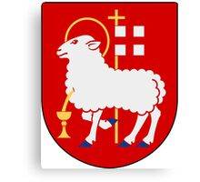 Visby Coat of Arms  Canvas Print