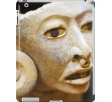 Mayan figure iPad Case/Skin