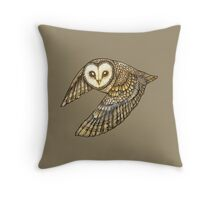 Silent Wings Throw Pillow